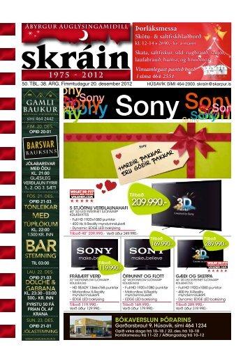 Skráin 50 . tbl. - 20. desember 2012 - Skarpur.is