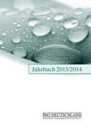 Jahrbuch 2013/2014 - BIO Deutschland