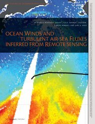 oceaN WiNdS aNd TurbuleNT air-Sea FluxeS iNFerred From ...