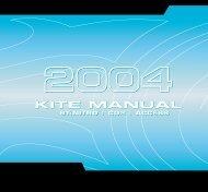 2004 kite manual - Cabrinha