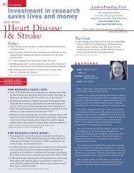 Heart Disease & Stroke - The Lasker Foundation