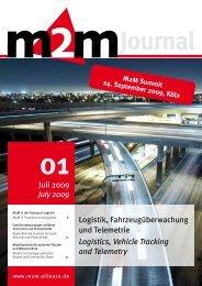Logistik, Fahrzeug überwachung und Telemetrie ... - M2M Alliance