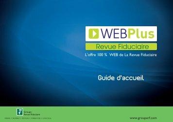 Guide d'accueil - Groupe Revue fiduciaire