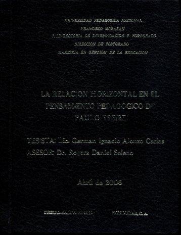 German Ignacio Alonzo Carias - UPNFM