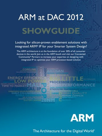 ARM at DAC 2012 Showguide