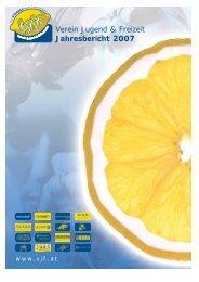 Verein Jugend & Freizeit Jahresbericht 2007