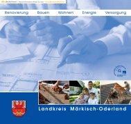 Bauen - Wohnen - im Landkreis Märkisch-Oderland