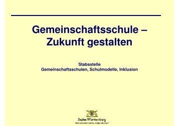 Download Präsentation Gemeinschaftsschule