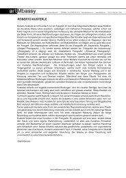 ROBERTO KUSTERLE - artMbassy