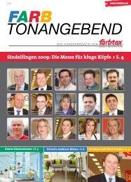 Sindelfingen 2009: Die Messe für kluge Köpfe > S. 4 - Farbtex