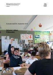 Schule Lätten, Fällanden - Schule Fällanden