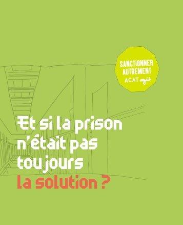 Et si la prison n\'était pas toujours la solution(3)
