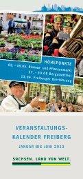 Veranstaltungskalender - Johannisbad und Waldbad Freiberg