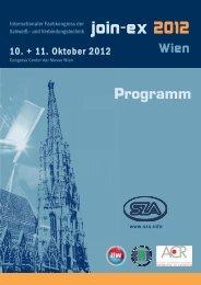 Programm - Schweißtechnische Zentralanstalt
