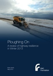 Ploughing on winter resilience review - Smith - RAC Foundation