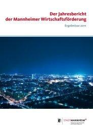 Der Jahresbericht der Mannheimer ... - Stadt Mannheim