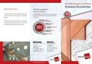 Fertigkeller - Kreative Grundrisse - Betonwerk Bürkle GmbH & Co.KG
