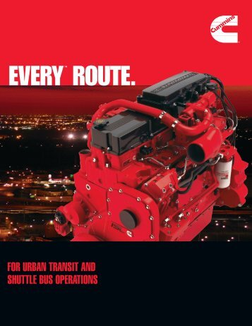 EVERY™ ROUTE. - Cummins Engines