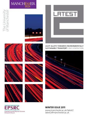 WINTER ISSUE 2011 - LATEST2 - The University of Manchester
