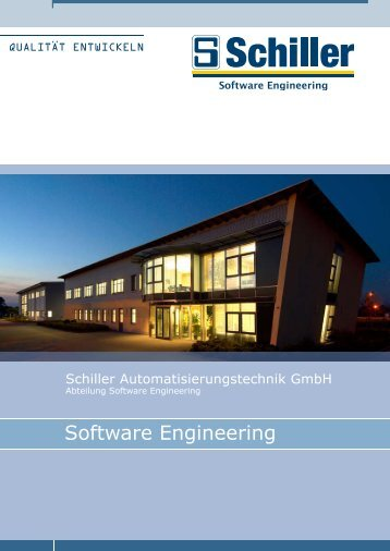 Prospekt Software Engineering - schiller-gruppe.de