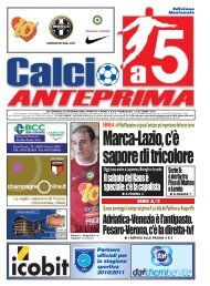calcio a 5 anteprima 44/10 N