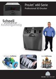 ProJet x60 Broschüre herunterladen