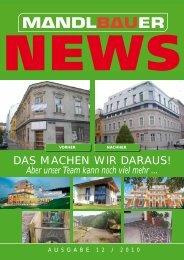 NEWS - Mandlbauer Bau GmbH