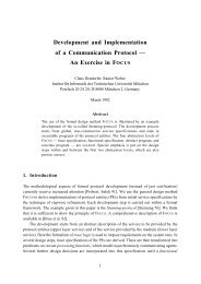 Development and Implementation of a Communication Protocol ...