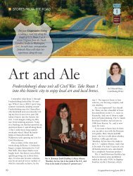 Stories From the Road - Cooperative Living Magazine