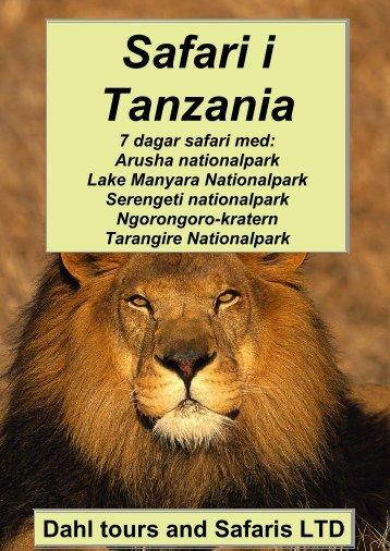 Tanzania safari med Serengeti och Ngorongoro crater