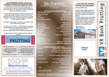 Flyer [PDF 493 KB] - Theatergemeinschaft Prutting eV