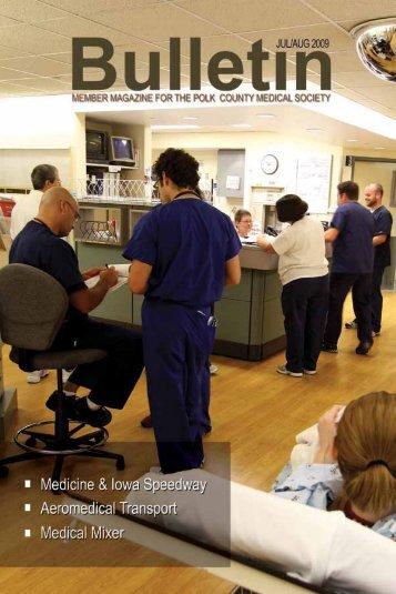 July August 2009 - Polk County Medical Society