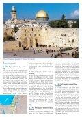ISRAEL UND PALÄSTINA - REISE INS HEILIGE LAND ISRAEL ... - Page 2