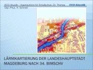 Lärmkartierung - Magdeburg