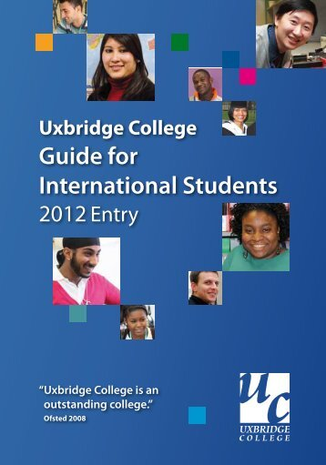 Guide for International Students - Study in the UK