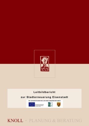 Leitbildbericht zur Stadterneuerung Eisenstadt