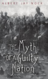 The Myth of a Guilty Nation.pdf - The Ludwig von Mises Institute