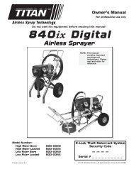 840ix Digital - Paint Sprayers, HVLP Sprayers, Powered Rollers