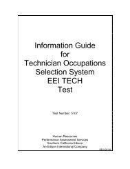 EEI TECH (Test 5107) - Edison International