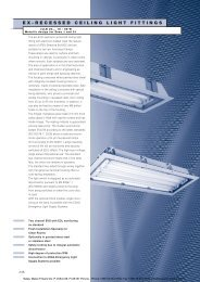 ex-recessed ceiling light fittings - Malux Finland Oy
