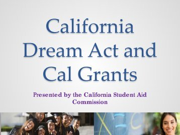 English - CSAC California Student Aid Commission