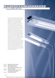 eLLK 92... Ex-built-on light fitting 18 - Malux Finland Oy