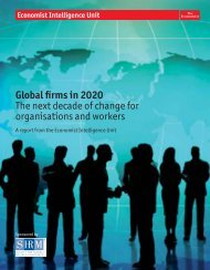 Global firms in 2020 - management thinking - Economist Intelligence ...