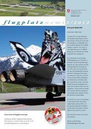8 flugplatz news 2/2012 - Schweizer Luftwaffe - admin.ch