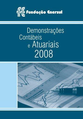Relatório Anual 2008 - Fundação Enersul