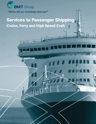 Services to Passenger Shipping - BMT Group