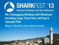 Ikeriri network service co., ltd. Packet capture company - Sharkfest ...