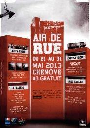 Programme Air de Rue
