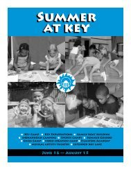 to view Summer Courses listed in Summer at Key ... - Key School