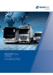 FleetBoard Success Story - NovaTec GmbH